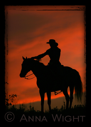 CowgirlSunset-PHOTO