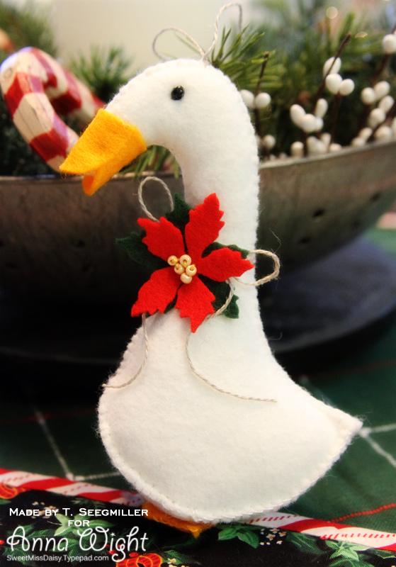 Wool Christmas Ornaments